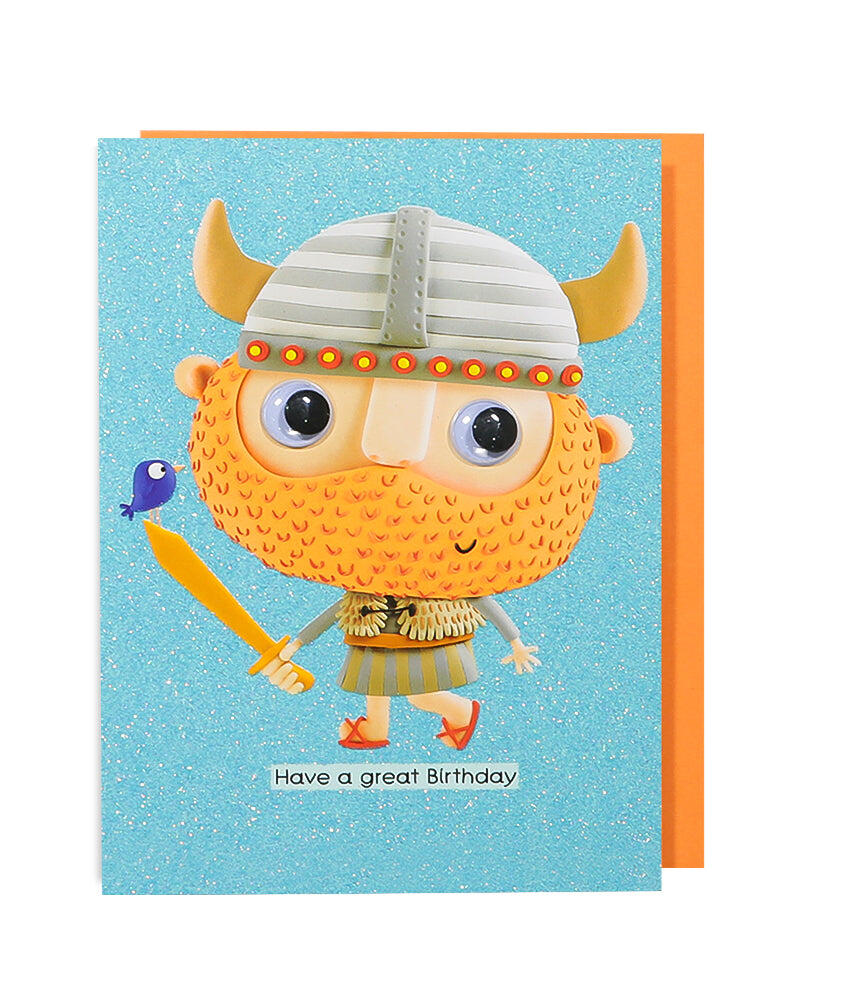 Viking Birthday Card