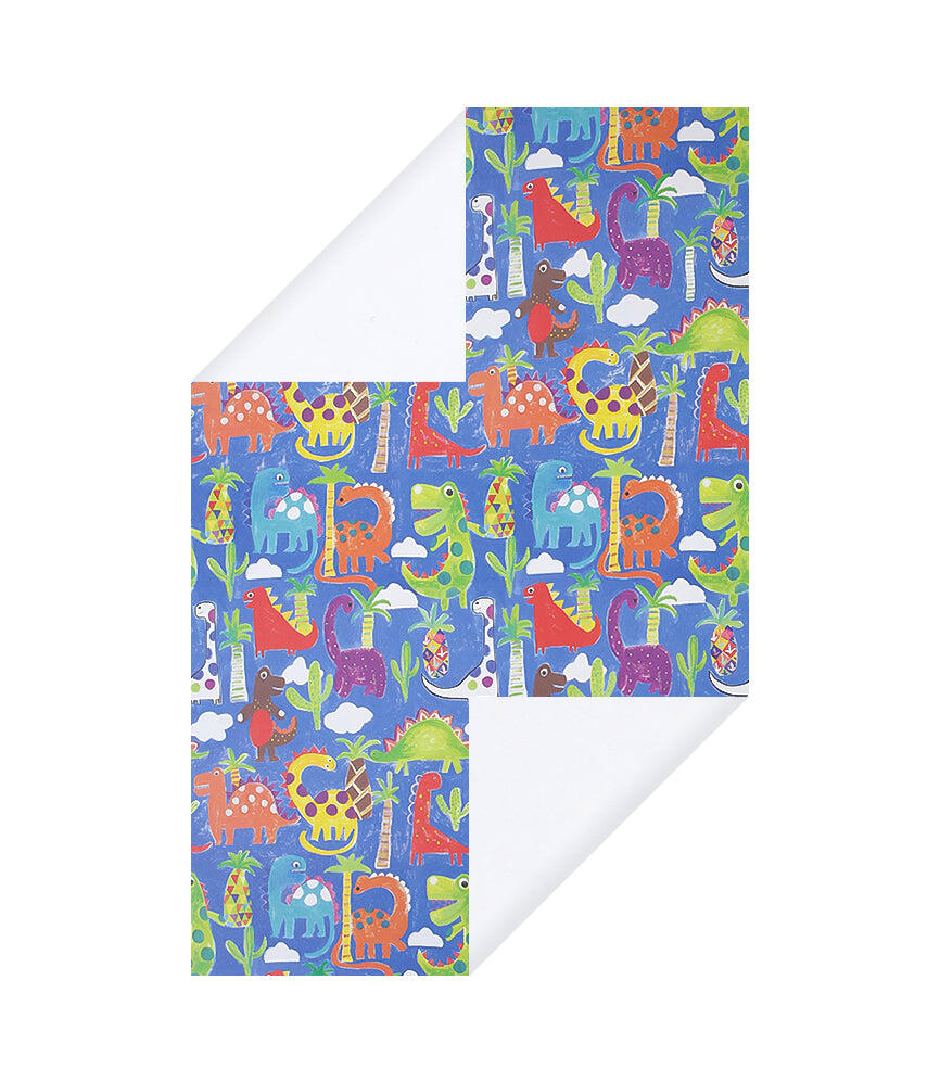 Juniors Dinosaurs Wrapping Paper