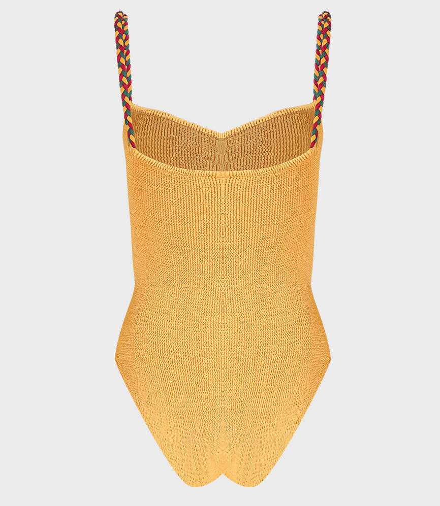 Hunza G Trina One Piece Swimsuit Spice