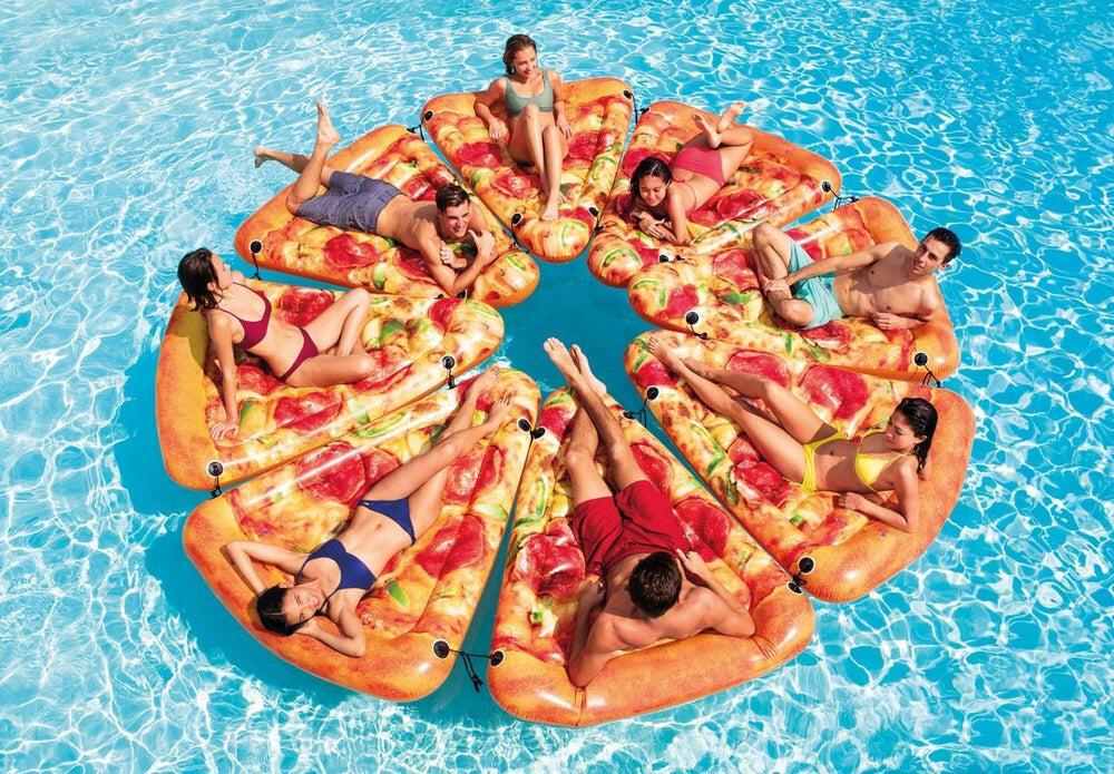 Pizza Slice Lilo Pool Float