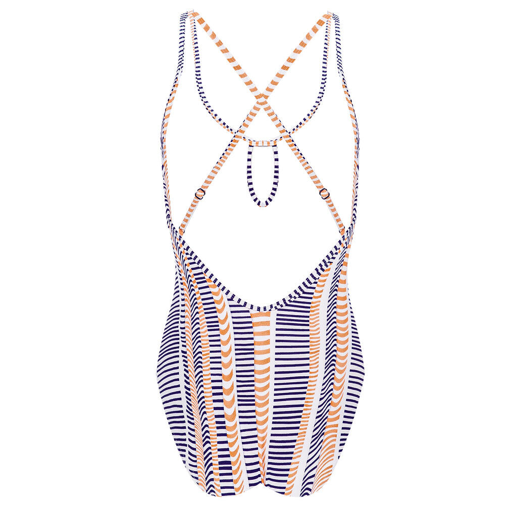 Disrupted Lines One piece with Fixed Cups Astral