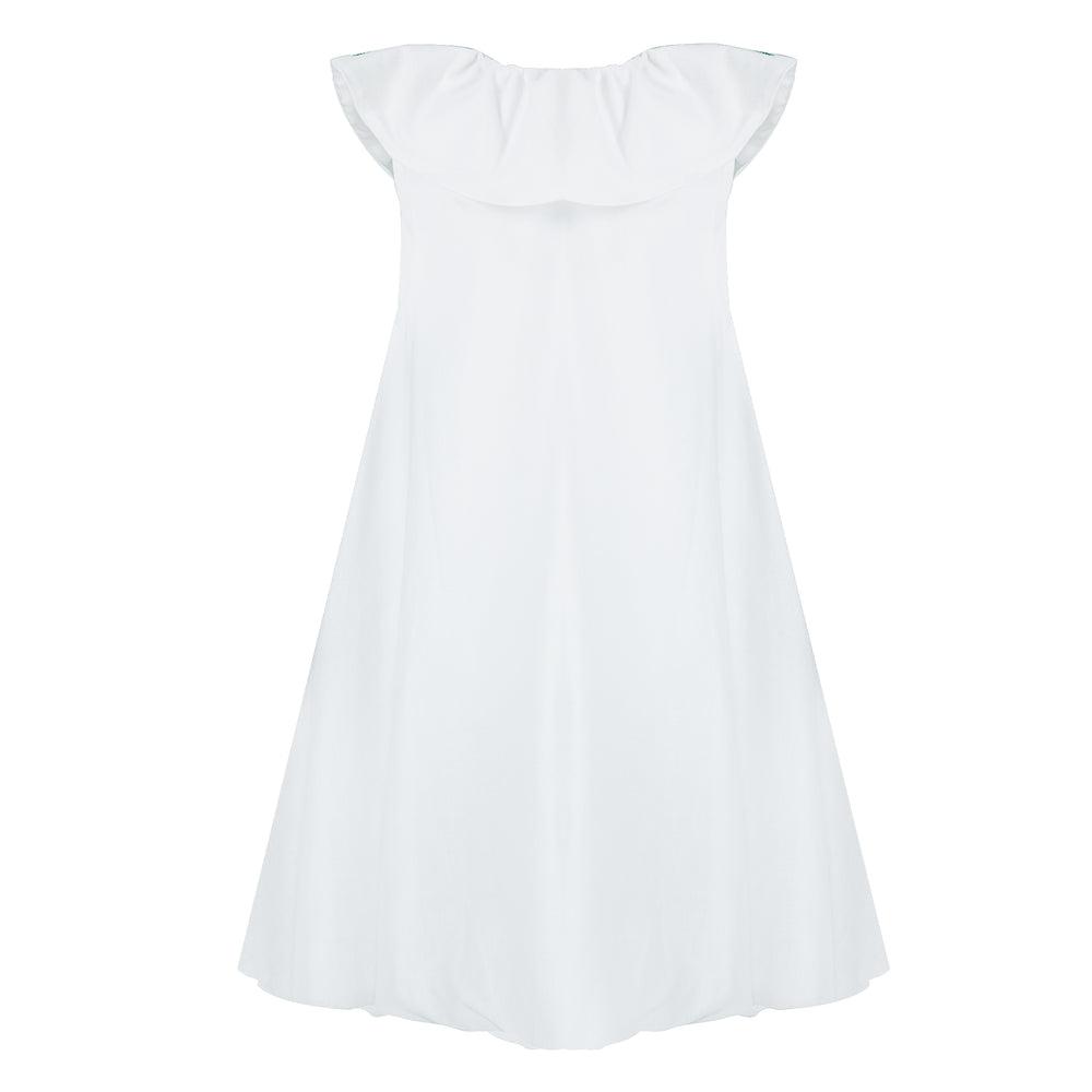 Hariasa Dress White
