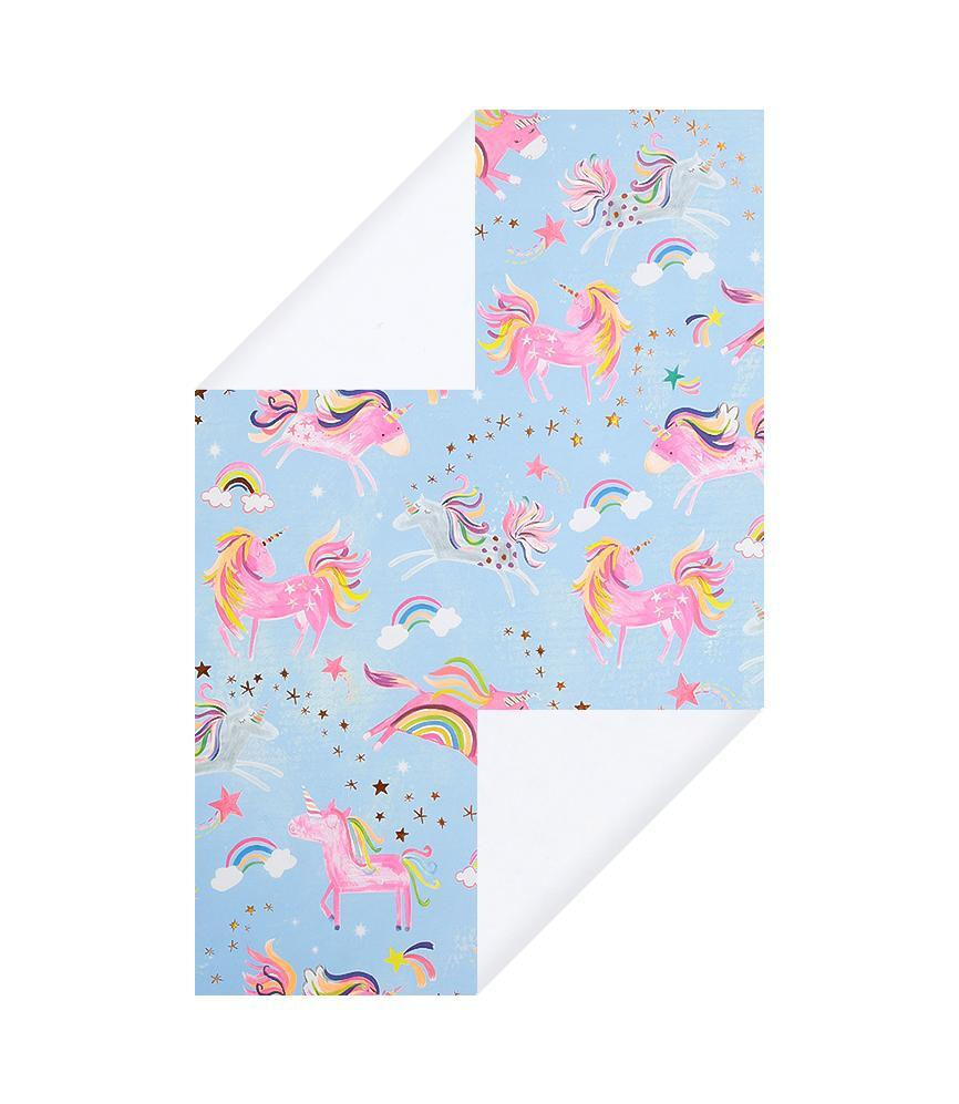 I Drew This Unicorn Wrapping Paper