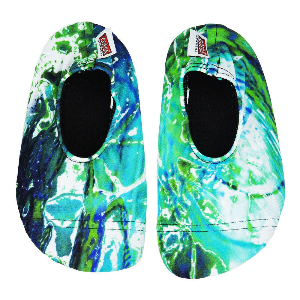 Coega Aqua Breeze Pattern Pool and Beach Shoes