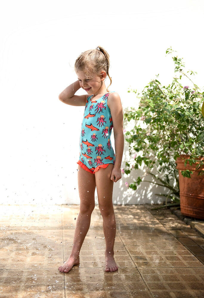 toddler girl one piece swimsuit