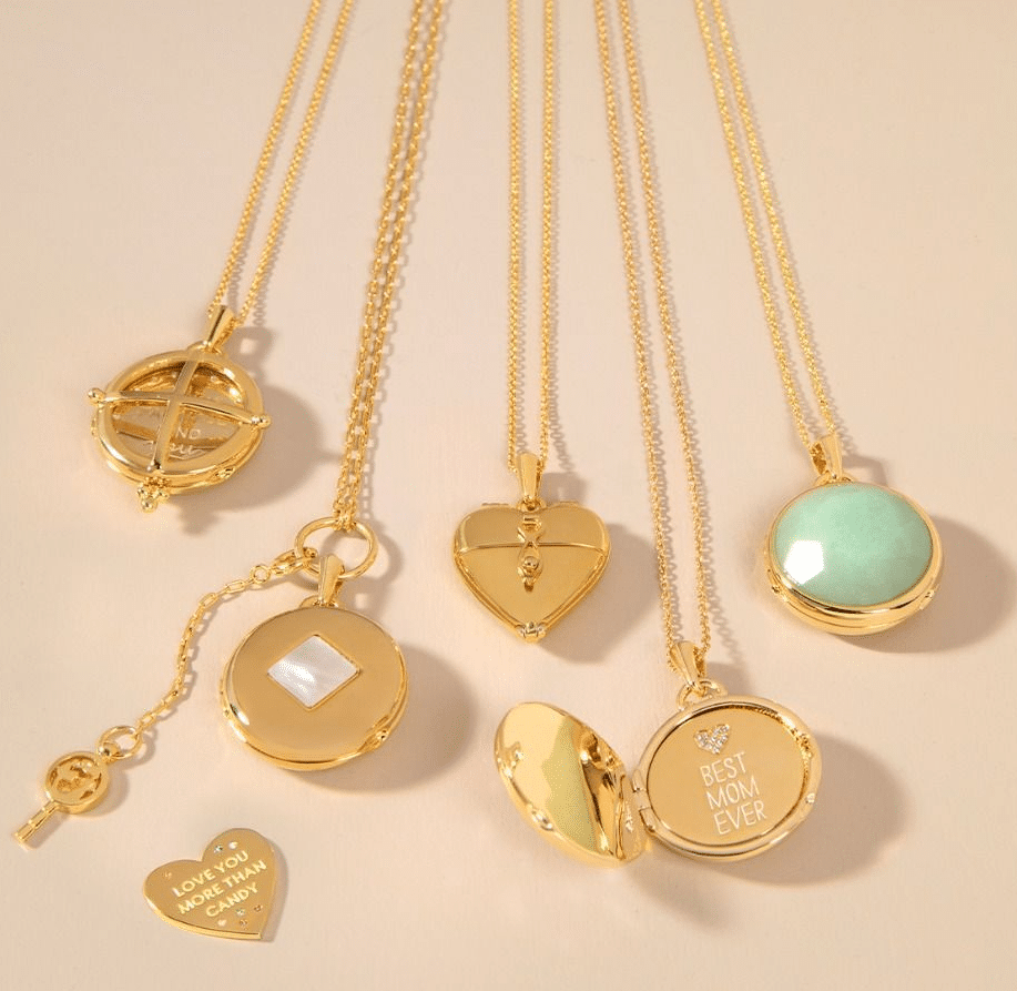 Locket Note Gem Heart More Than Candy