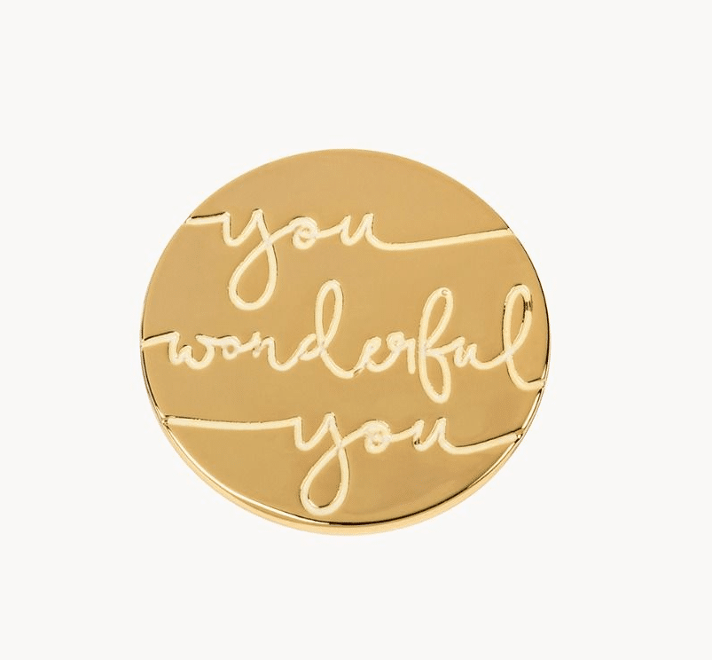Locket Note You Wonderful You