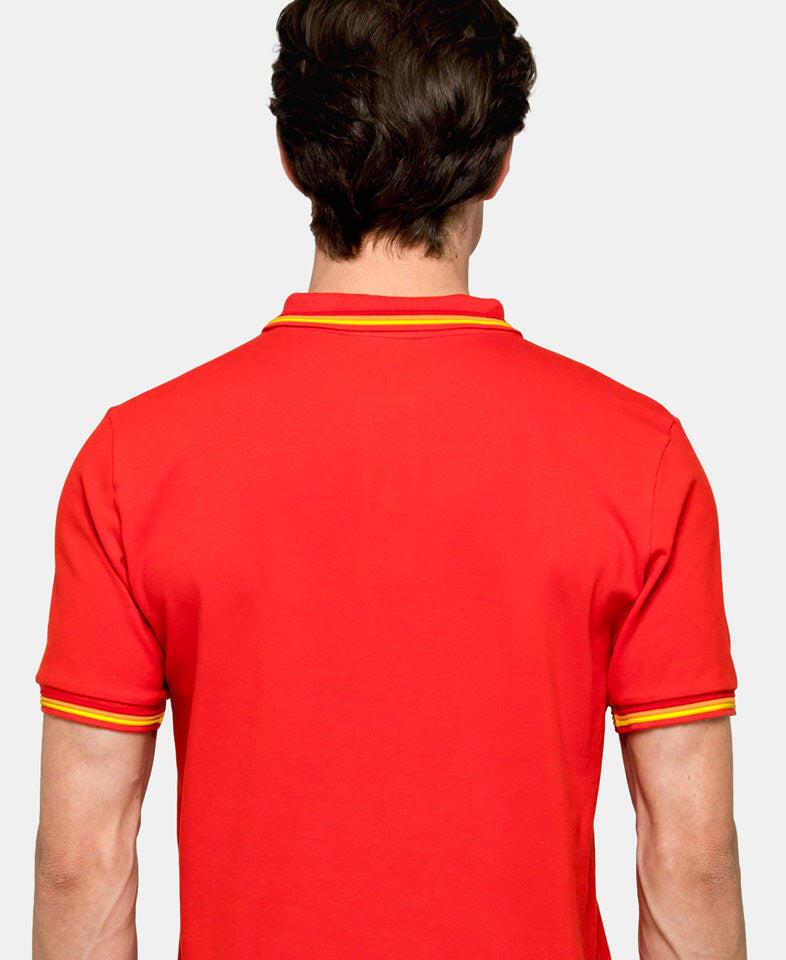 sundek polo shirt for men back