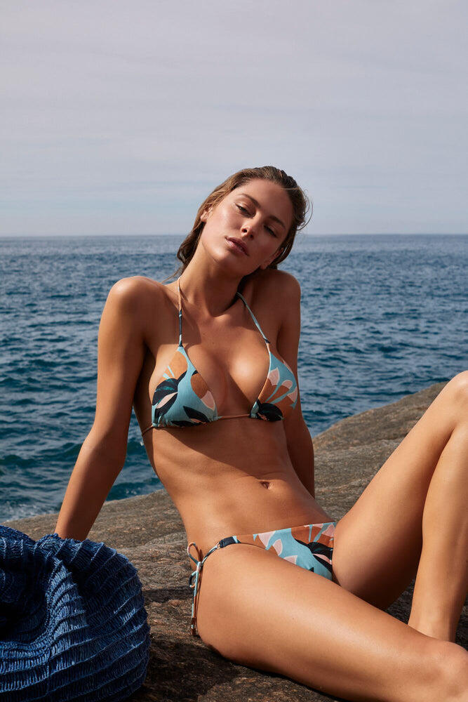 Matisse Triangle Bikini Top Blue