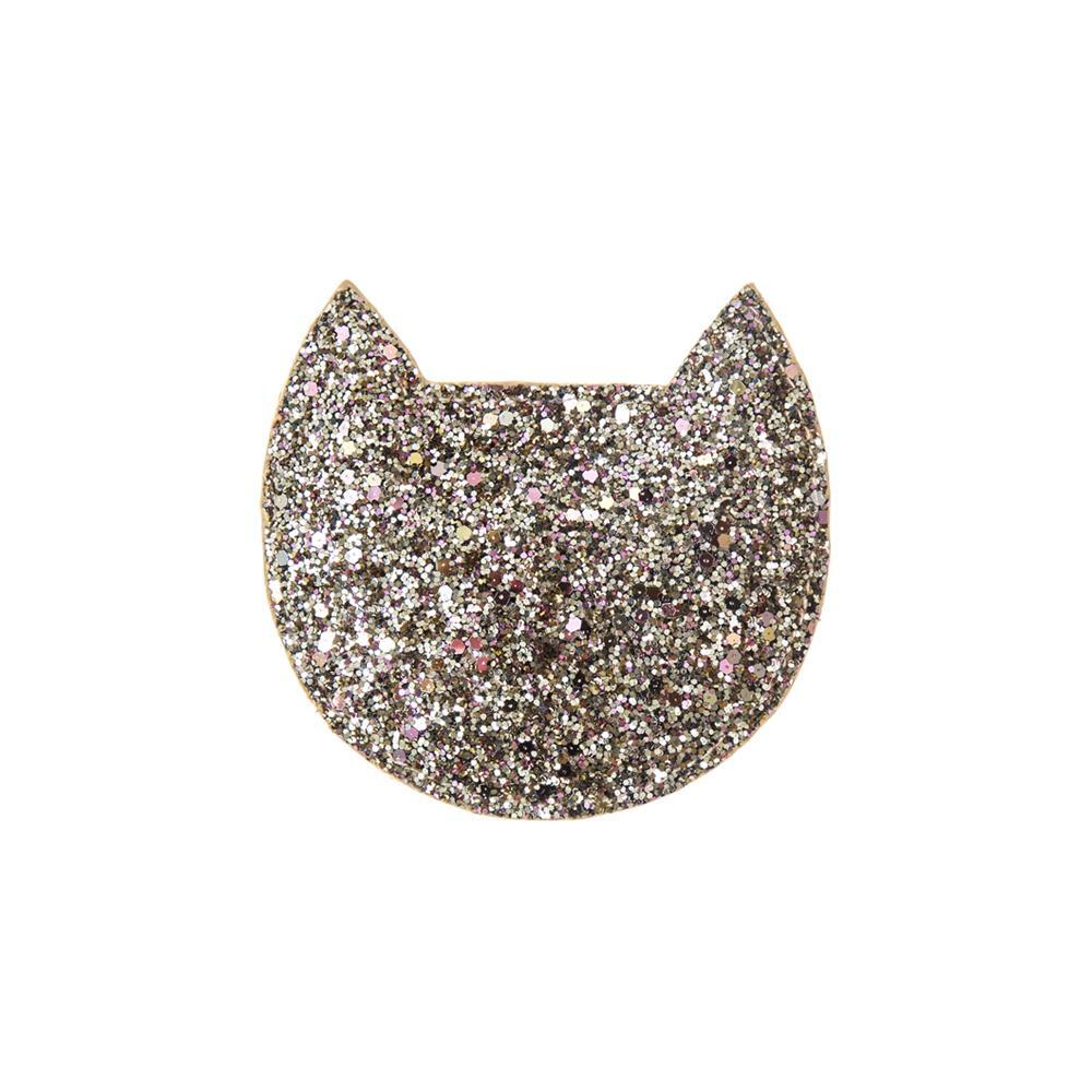 Sparkly Cat Purse Gold