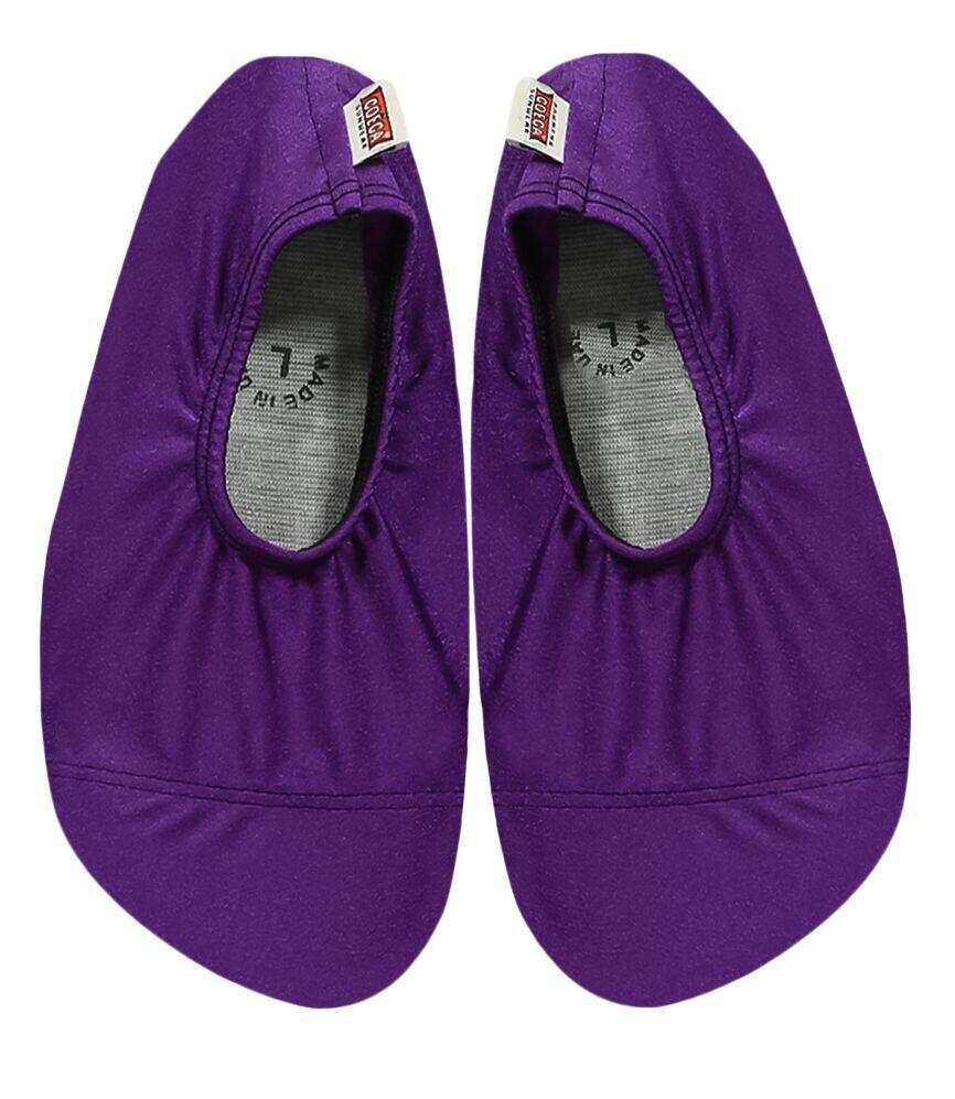 Coega Shiny Purple Pool and Beach Shoes
