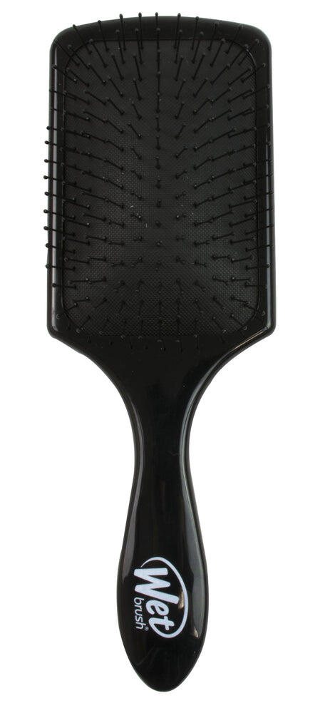 vented paddle hair brush in black