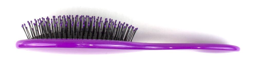 wetbrush purple hair brush