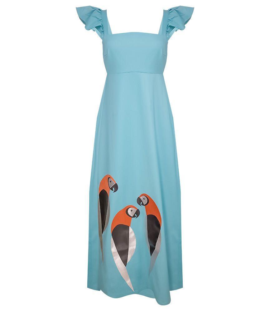 Adriana Degreas Arara Long Dress