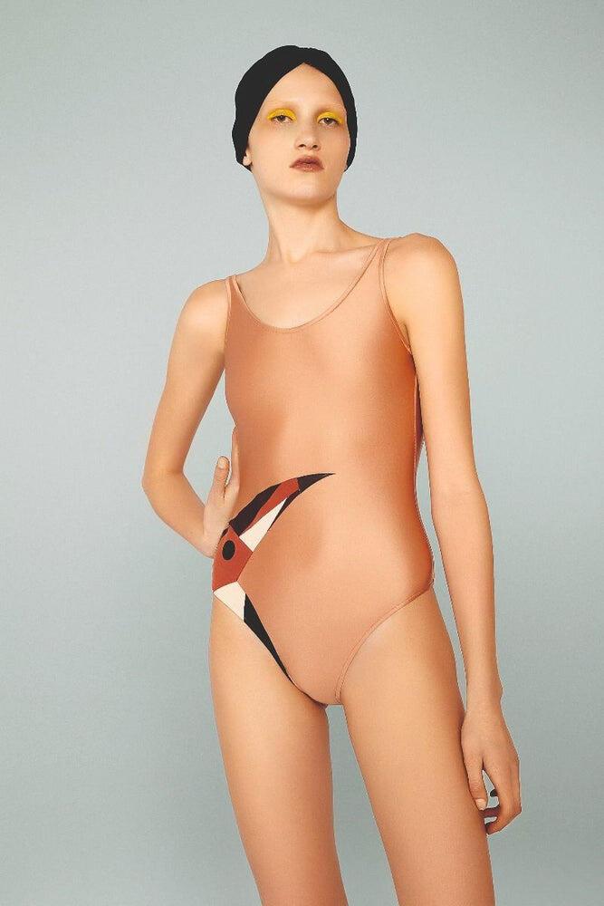 Adriana Degreas Toucan Swimsuit