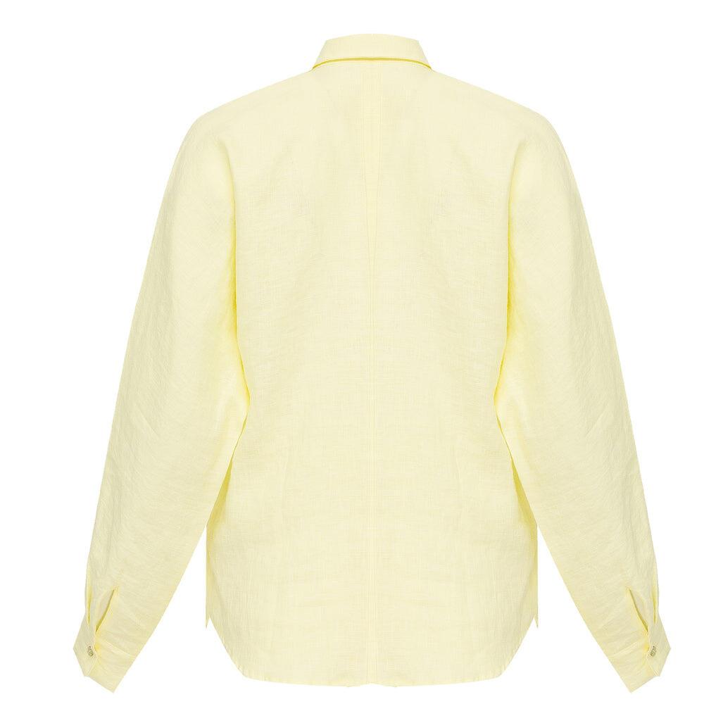 Lemon Linen Shirt