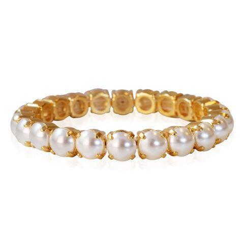Gia Stretch Bracelet Pearl