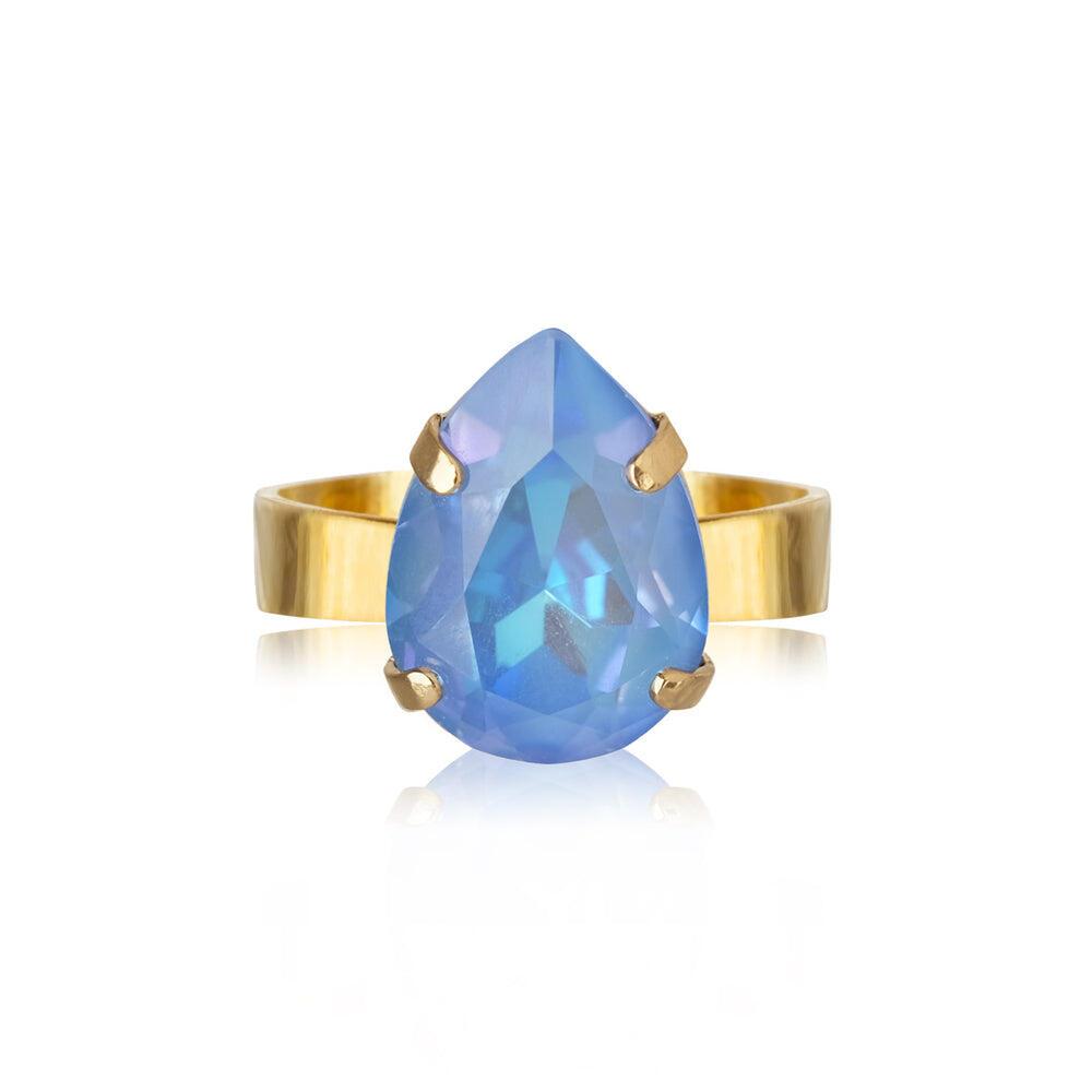 Mini Drop Ring Ocean Blue Delite
