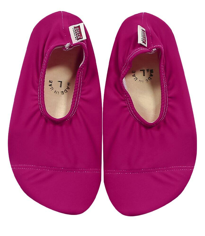 Magenta Pink Pool and Beach Shoes