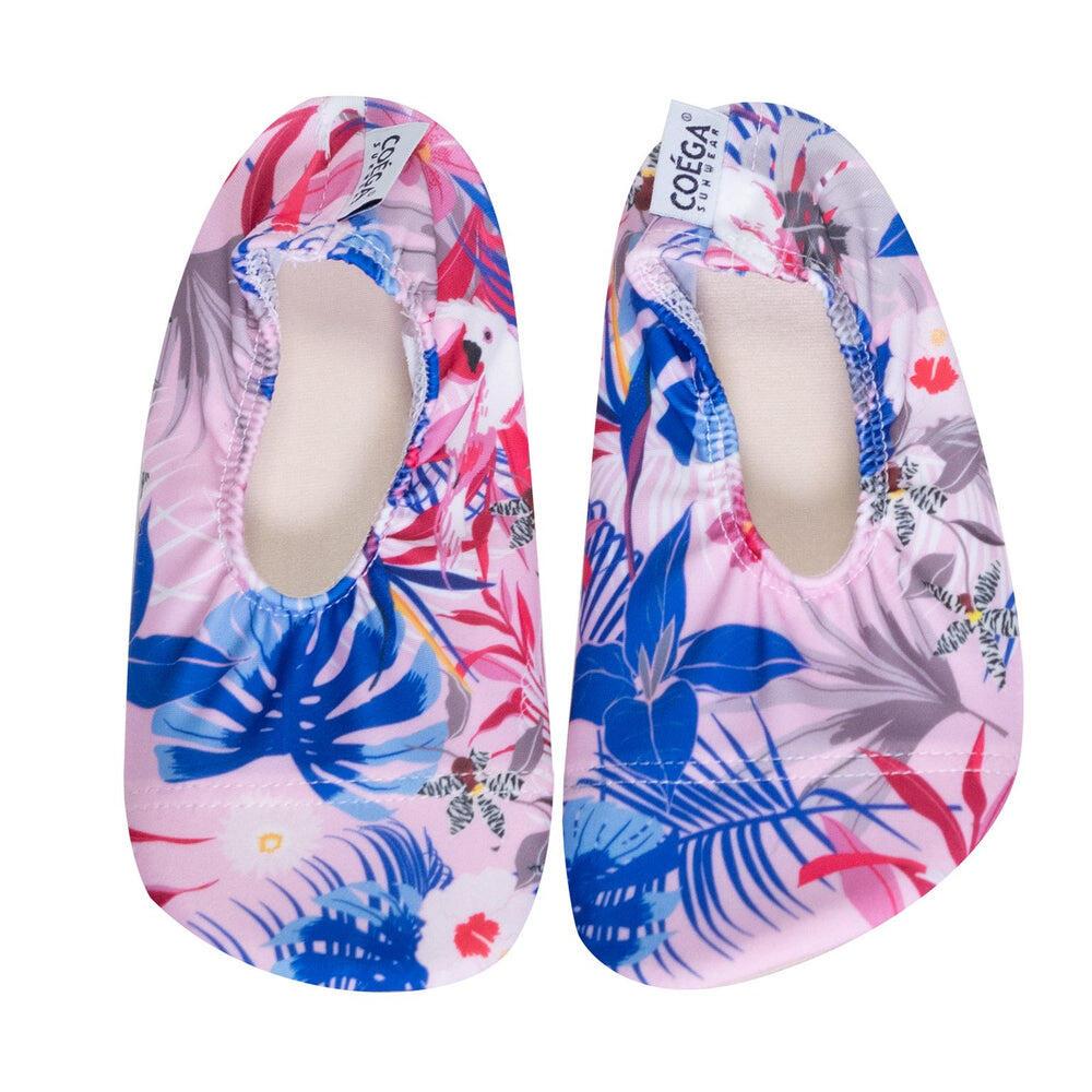 Coega Blue Leaves Pool and Beach Shoes