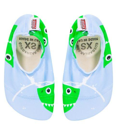 Coega Sharks Pattern Pool and Beach Shoes