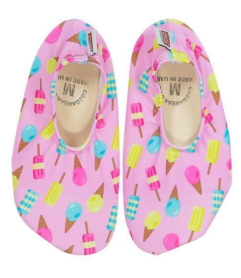 Coega Ice Cream Pattern Pool and Beach Shoes