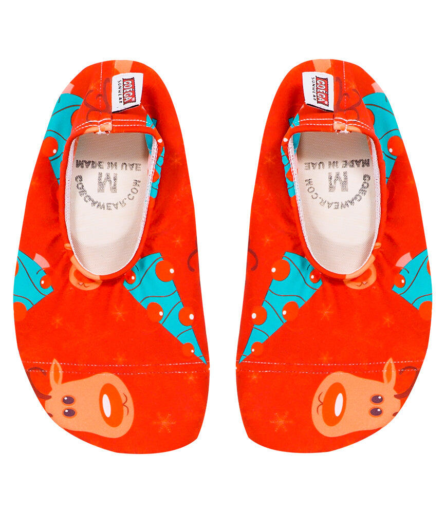 Christmas Rudolph Pool & Beach Shoes