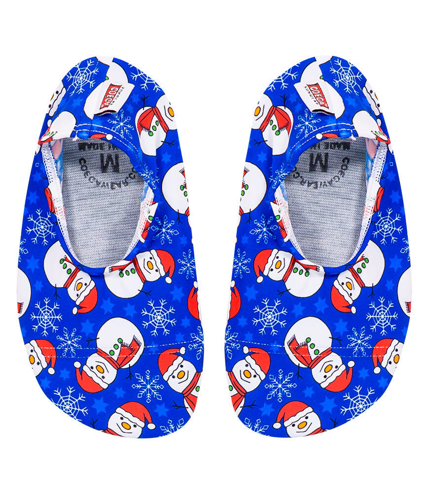 Christmas Snowman Pool & Beach Shoes