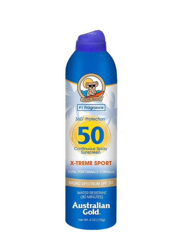 Australain Gold Spf 50 Xtreme Sport Continous Spray