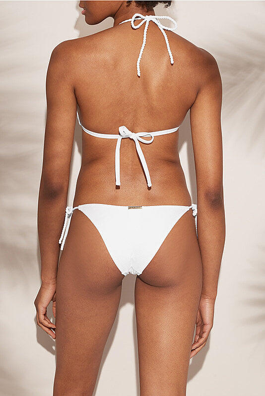 Core Rope Tie Side Bottom White