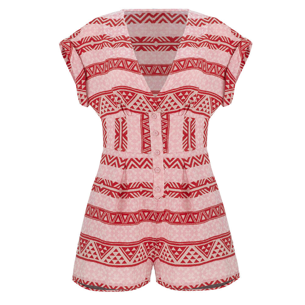 Aithra Jumpsuit Pink/Red
