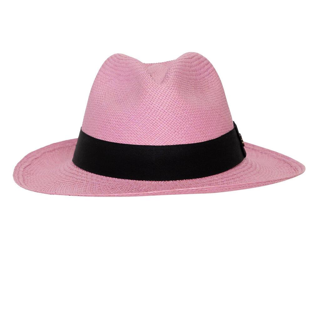 Lilac Womens Panama Hat