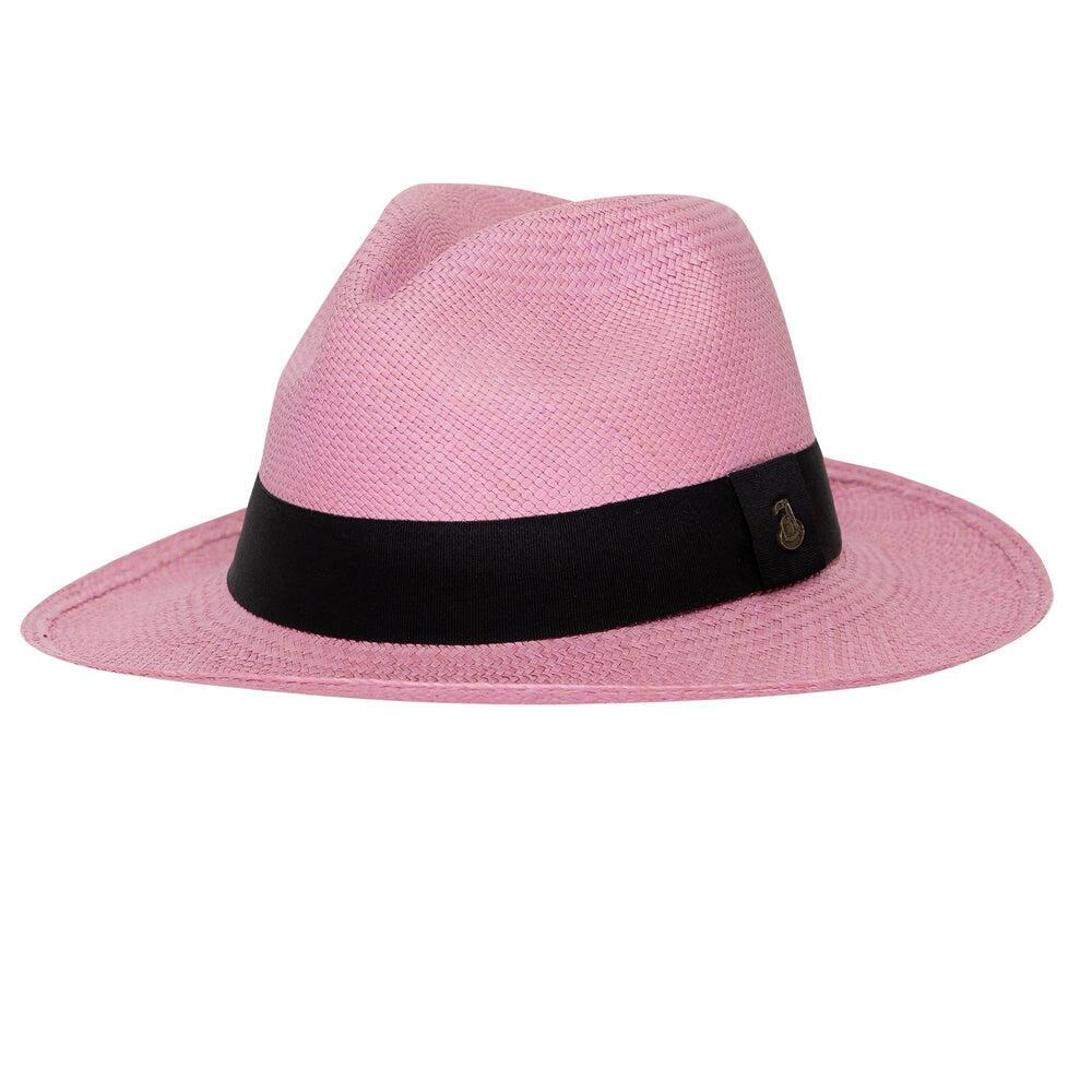 Womens Panama Hat in Purple