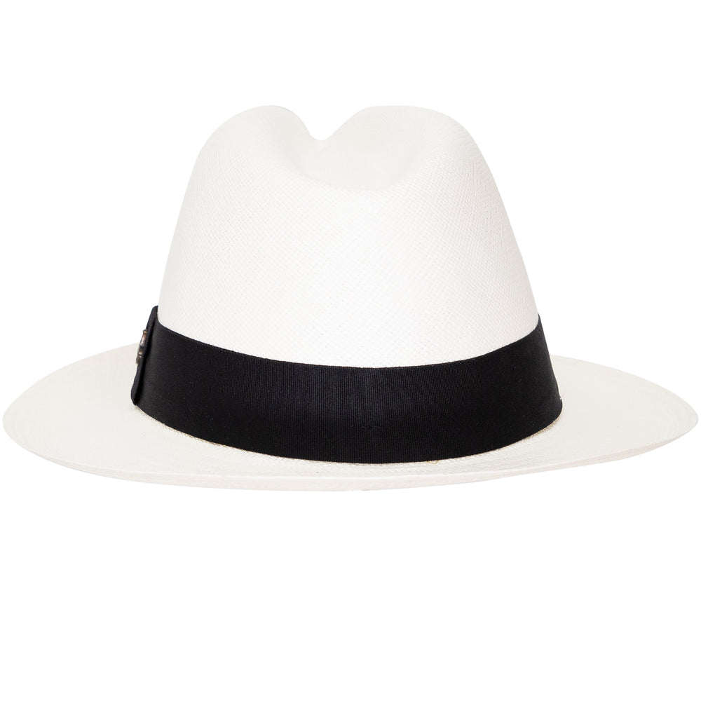 genuine Panama Hat in White