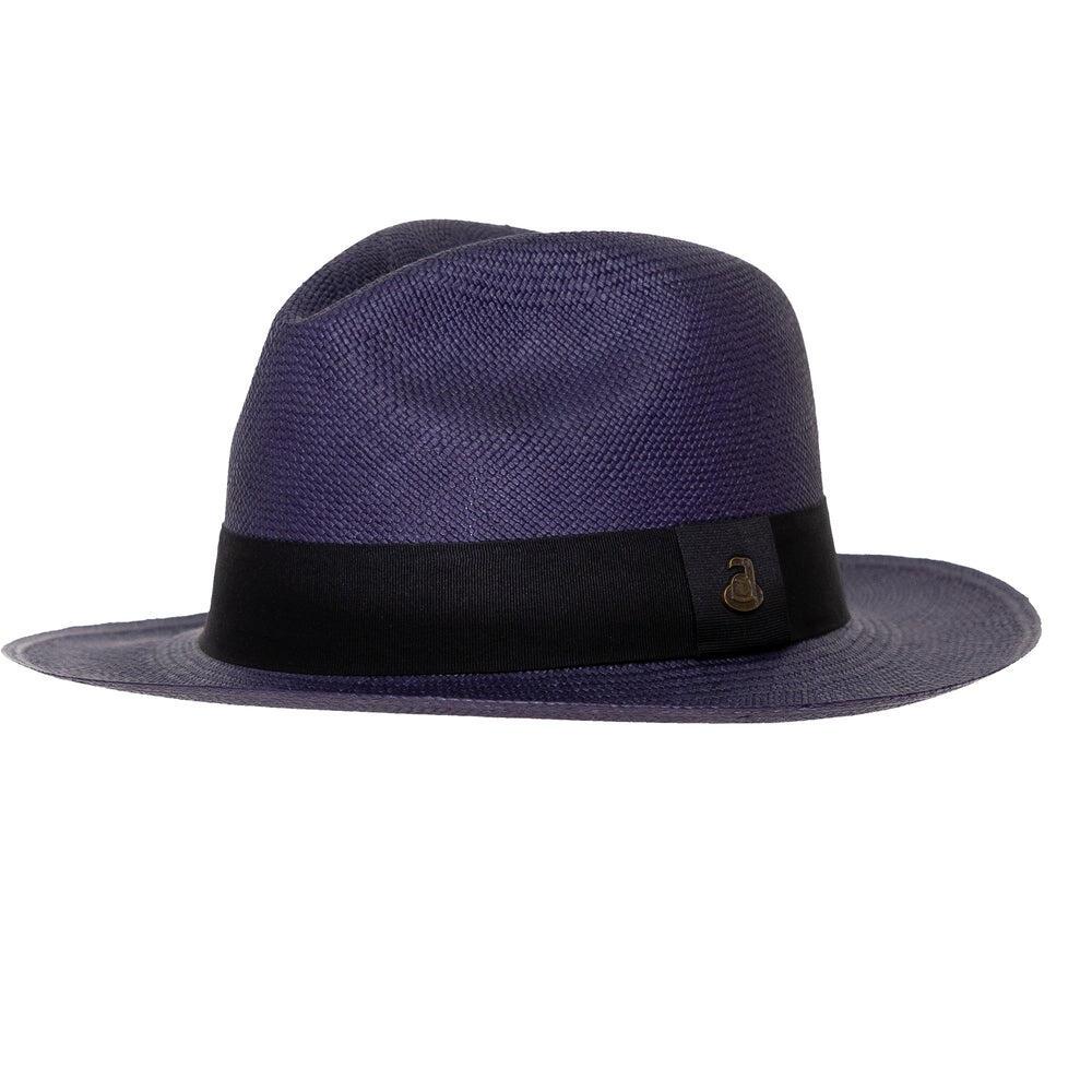Ecua Andino Panama Hat in Navy