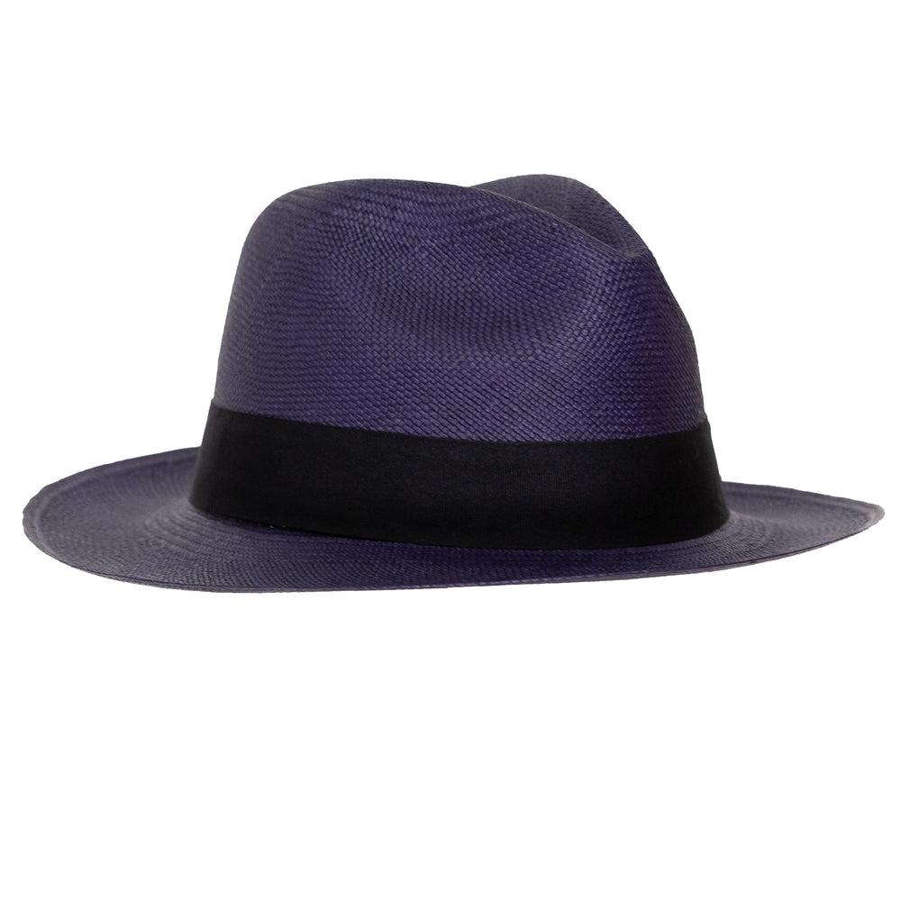 Navy Mens Panama Hat