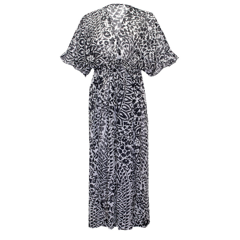 Cinnamon Maxi Dress Silk/Waterproof