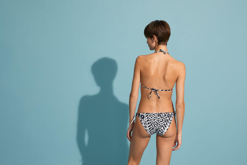 Leila Bikini Bottom Silk/Waterproof