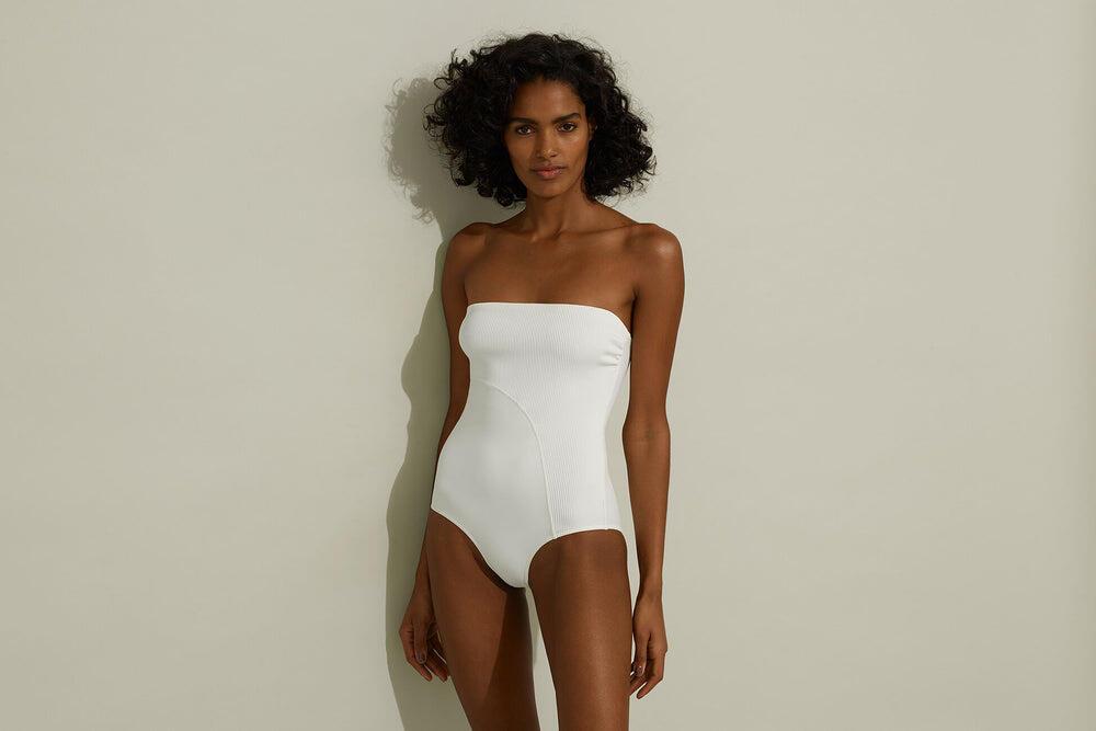 Ondevibe One piece Silk White