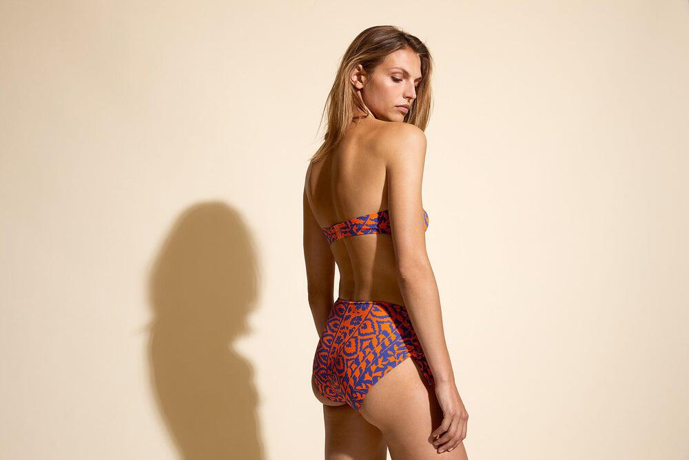 Tahina Bikini Top Indie/Mer Azur