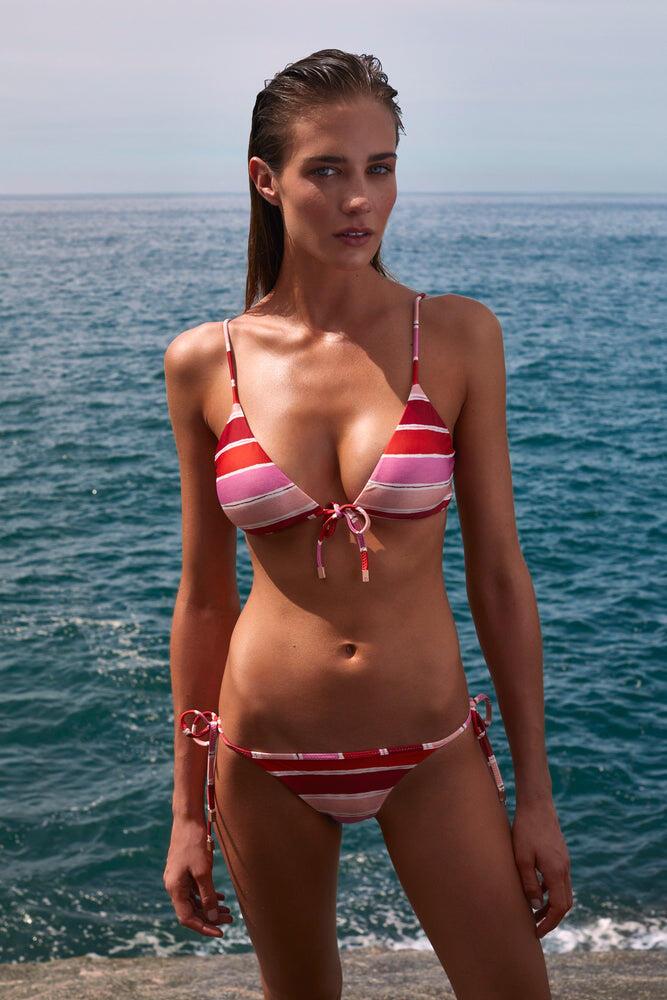 Eva Bralette Top Light Pink