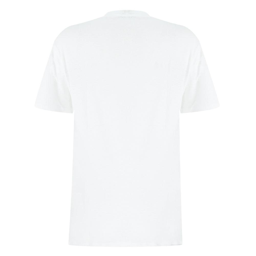 mens designer t shirt in white