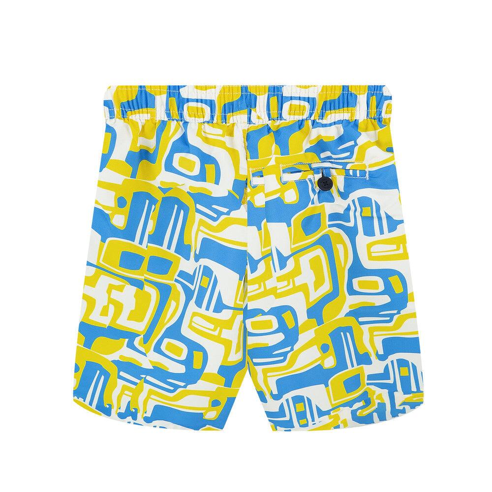 funky swim trunks for boys