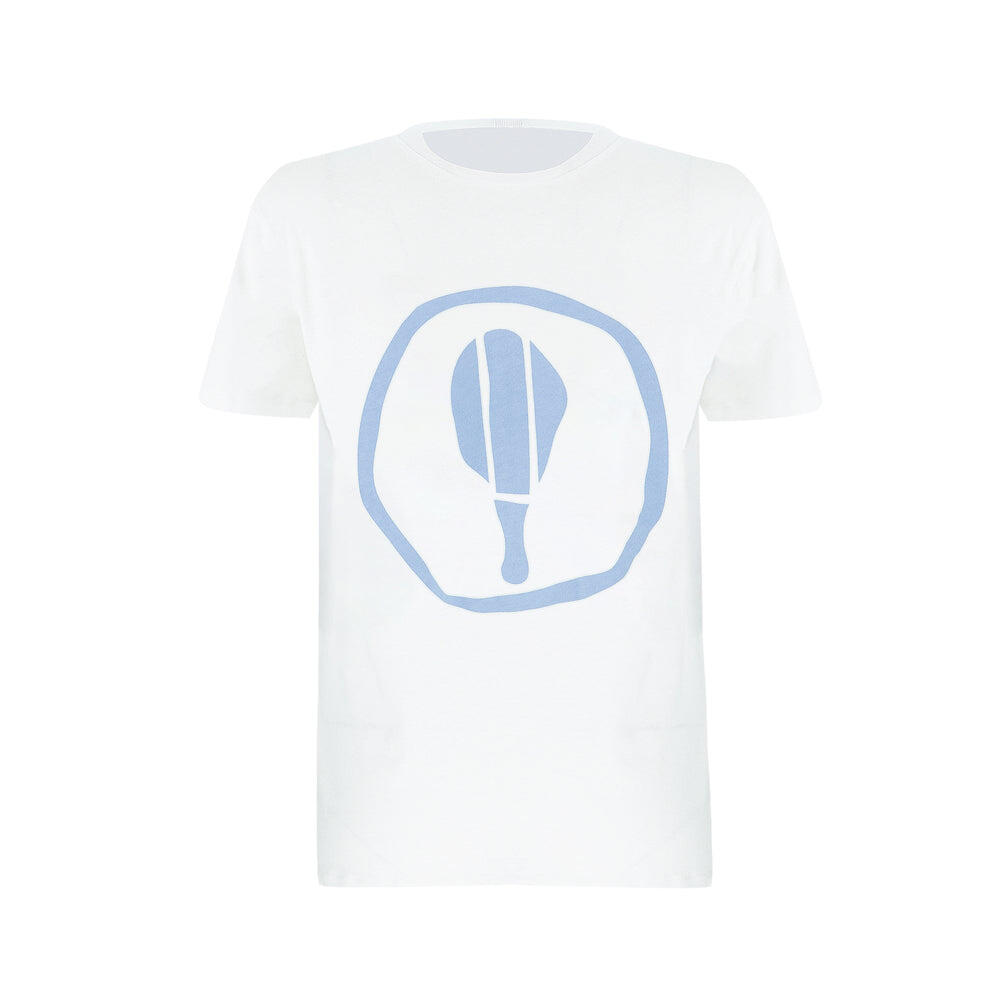 Kids Short Sleeve T Shirt With Blue Graphic