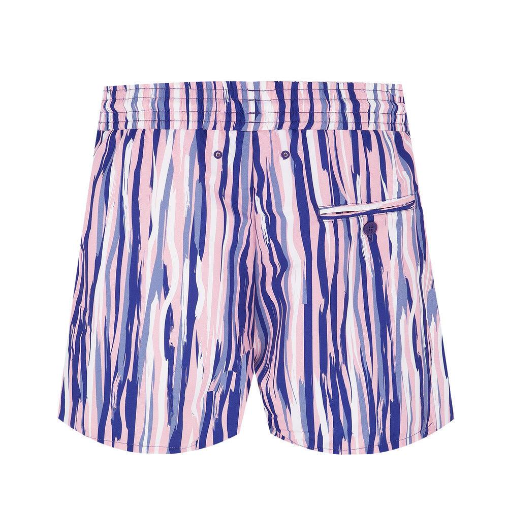 mens pink swim shorts