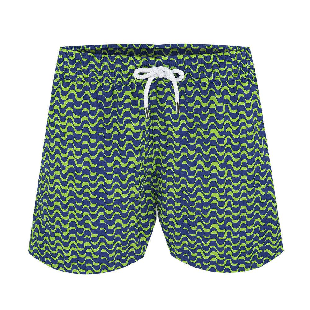 Trunks Sport Short Wave Bossa Coconut Green/Navy