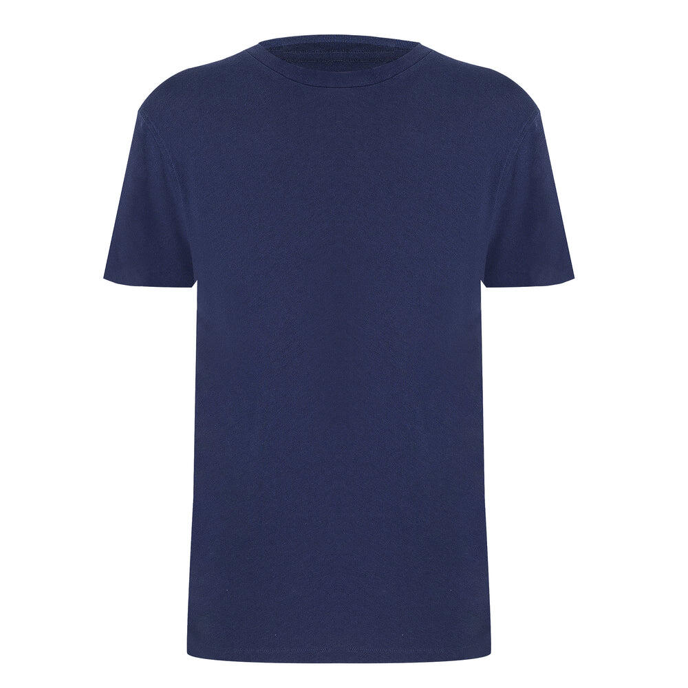 premium quality dark blue t shirt