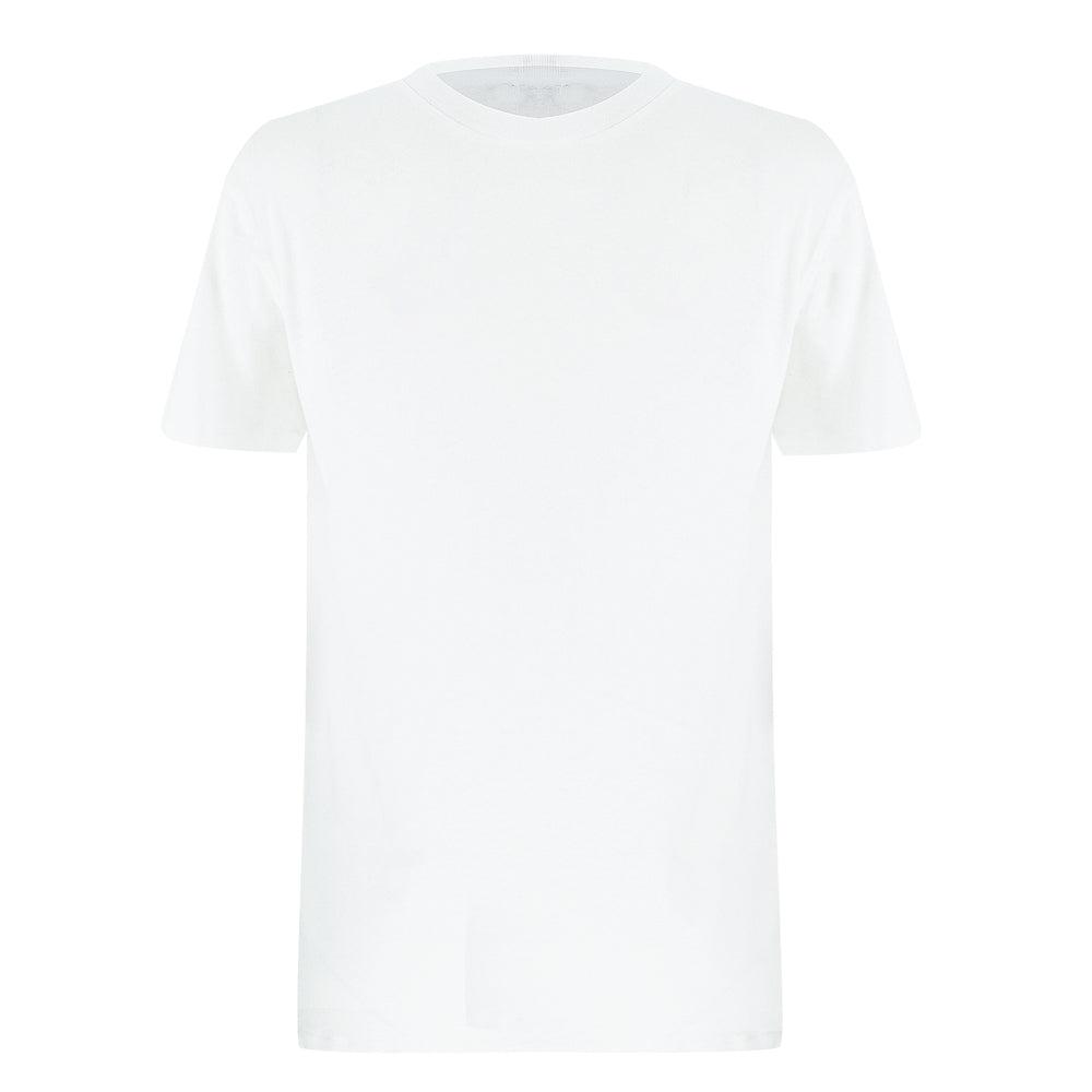 mens linen white t shirt