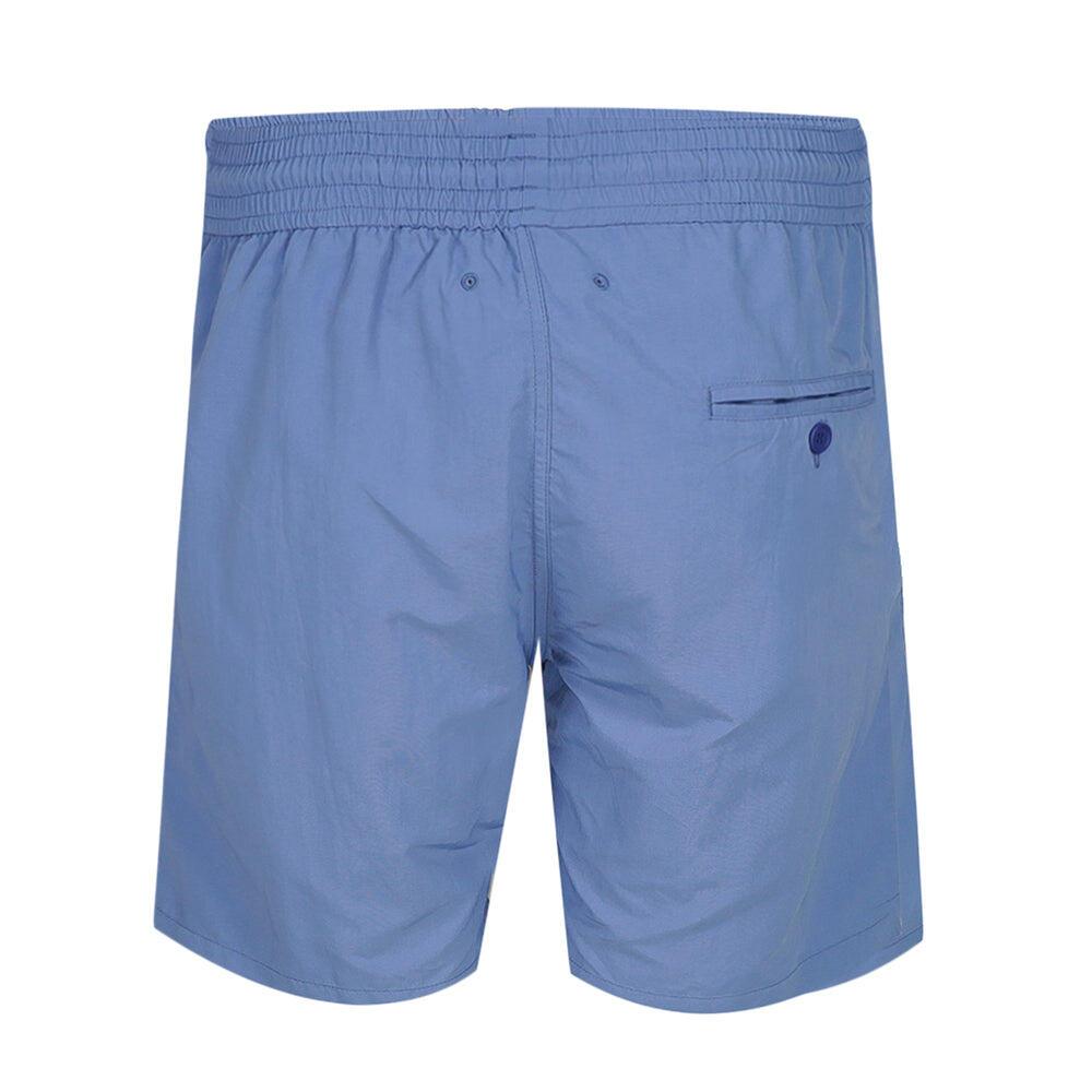 long blue swim shorts for men