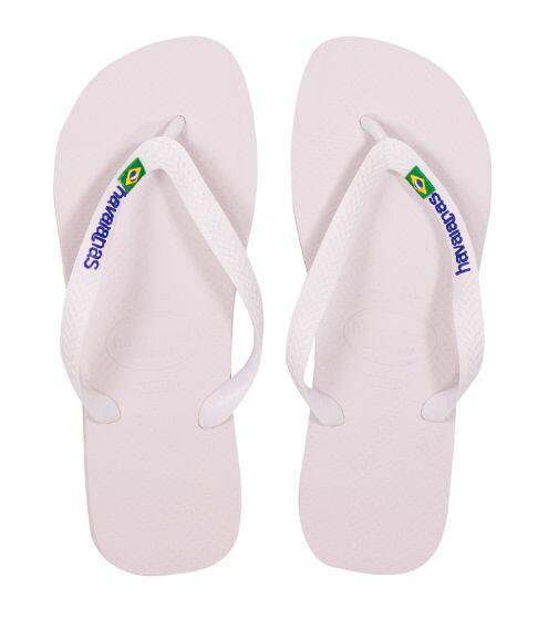 Havaianas Kids Brasil Logo White